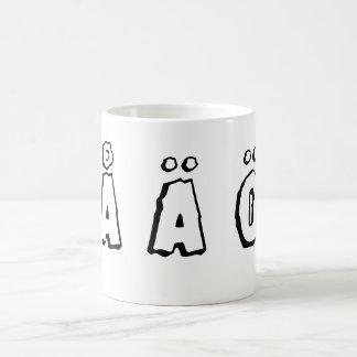 スウェーデンの手紙(åのäのö) コーヒーマグカップ