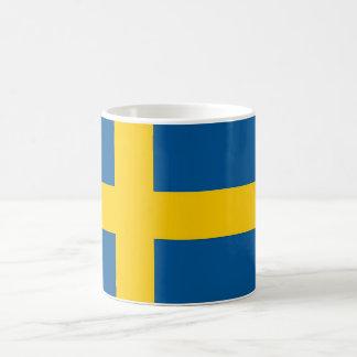スウェーデンの旗が付いているマグ コーヒーマグカップ