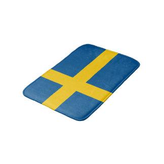 スウェーデンの旗のバス・マット スウェーデンの浴室の敷物 バスマット