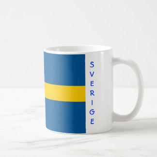 スウェーデンの旗のマグ コーヒーマグカップ