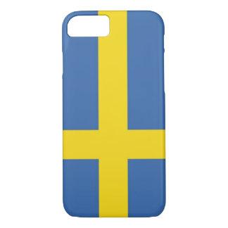 スウェーデンの旗の電話箱 iPhone 8/7ケース