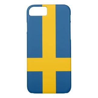 スウェーデンの旗のiPhone 7の場合(高品質な) iPhone 8/7ケース
