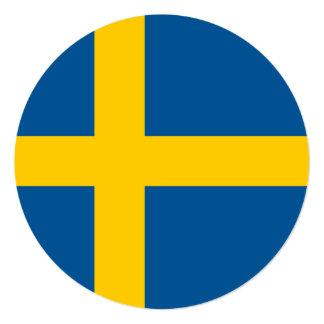 スウェーデンの旗 カード