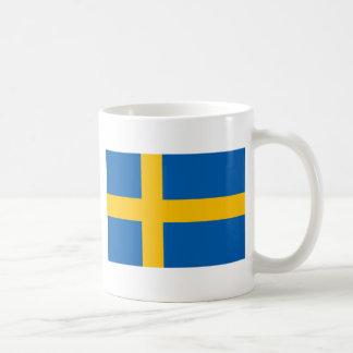 スウェーデンの旗 コーヒーマグカップ