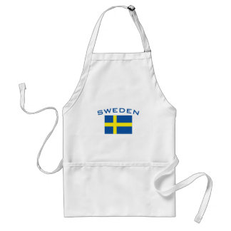 スウェーデンの旗 スタンダードエプロン