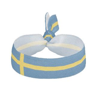 スウェーデンの旗 ヘアタイ リボン