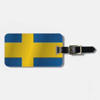 スウェーデンの旗 ラゲッジタグ