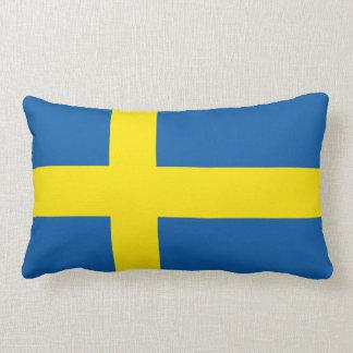 スウェーデンの旗 ランバークッション