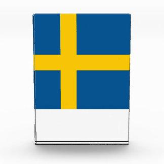 スウェーデンの旗 表彰盾