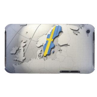スウェーデンの旗 Case-Mate iPod TOUCH ケース