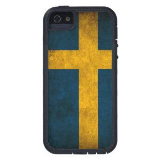 スウェーデンの旗 iPhone 5 タフ・エクストリームケース
