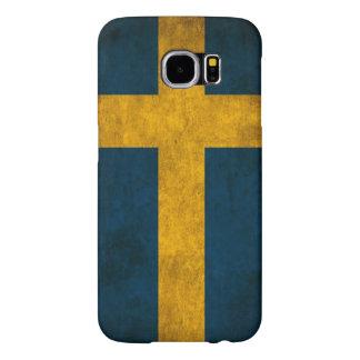 スウェーデンの旗 SAMSUNG GALAXY S6 ケース
