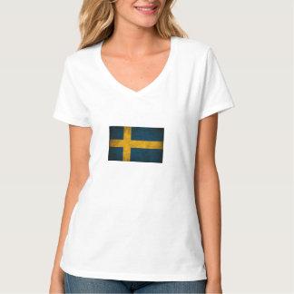 スウェーデンの旗 Tシャツ