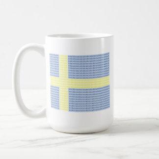 スウェーデンの旗wのå + 注入口-マグ コーヒーマグカップ