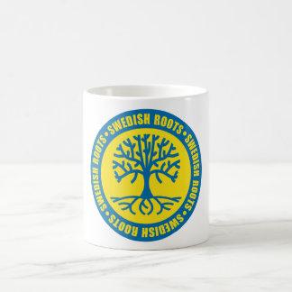 スウェーデンの根 コーヒーマグカップ