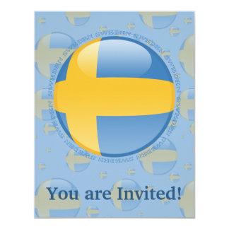 スウェーデンの泡旗 カード