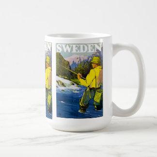 スウェーデンの漁師 コーヒーマグカップ