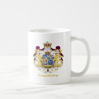 スウェーデンの紋章付き外衣 コーヒーマグカップ