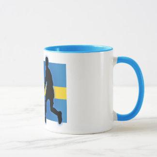 スウェーデンの罷業者 マグカップ