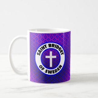 スウェーデンの聖者Bridget コーヒーマグカップ