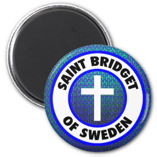 スウェーデンの聖者Bridget マグネット