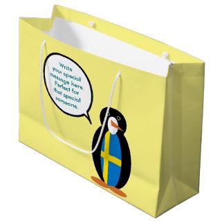 スウェーデンの話すMr.Penguin ラージペーパーバッグ