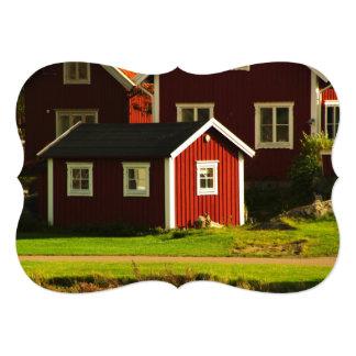 スウェーデンの赤い家 カード