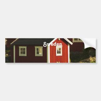 スウェーデンの赤い家 バンパーステッカー