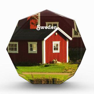スウェーデンの赤い家 表彰盾