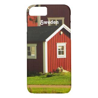 スウェーデンの赤い家 iPhone 8/7ケース