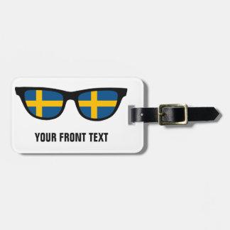 スウェーデンの陰のカスタムな荷物のラベル ラゲッジタグ