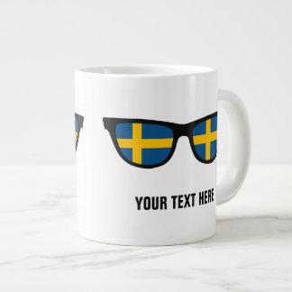 スウェーデンの陰のカスタムのマグ ジャンボコーヒーマグカップ