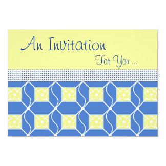 スウェーデンの青および黄色の特別なイベント カード