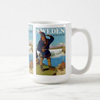 スウェーデンの~ Lappland コーヒーマグカップ