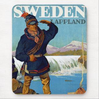 スウェーデンの~ Lappland マウスパッド