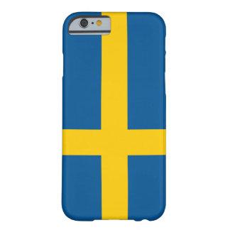 スウェーデンのiPhone6ケースの旗 Barely There iPhone 6 ケース