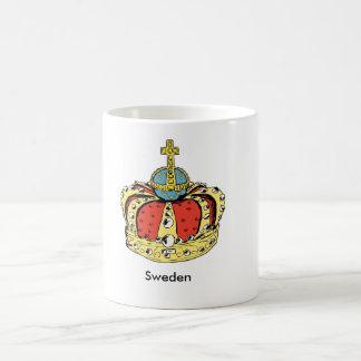 スウェーデンのLovisa Ulrika女王の王冠のマグ コーヒーマグカップ