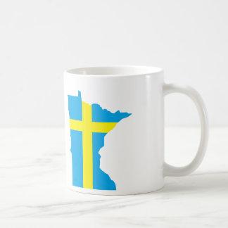 スウェーデンのMinnesotan コーヒーマグカップ