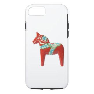 スウェーデン人のDalaの赤い馬 iPhone 8/7ケース