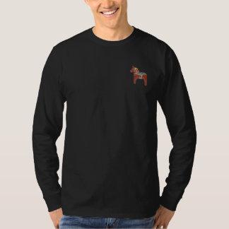 スウェーデン人のDalaの馬のスカンジナビア人 Tシャツ