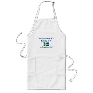 スウェーデン人はキャラクターを造ります ロングエプロン