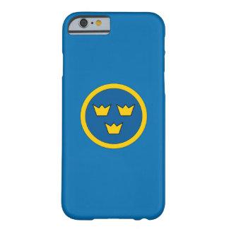スウェーデン人3の王冠のスカンジナビアの紋章付き外衣 BARELY THERE iPhone 6 ケース