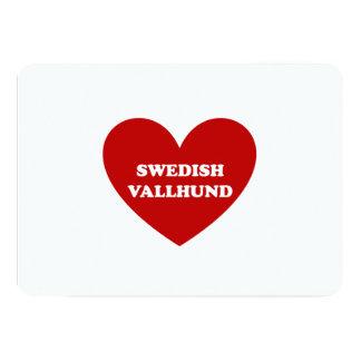スウェーデン語Vallhund カード