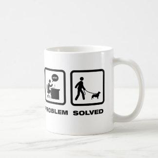 スウェーデン語Vallhund コーヒーマグカップ
