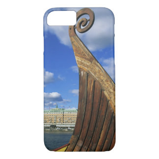 スウェーデン、ストックホルムの港、Gamla Stanからの、 iPhone 8/7ケース