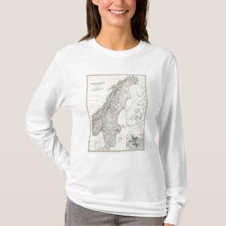スウェーデン、ノルウェー Tシャツ