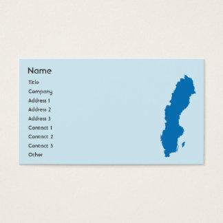 スウェーデン-ビジネス 名刺