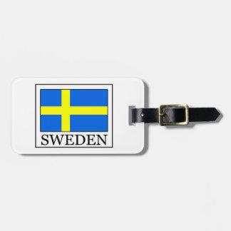 スウェーデン ラゲッジタグ