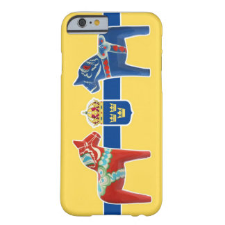 スウェーデンDalaの紋章付き外衣 Barely There iPhone 6 ケース