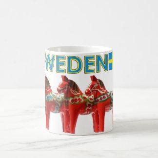 スウェーデンDalaの馬 コーヒーマグカップ